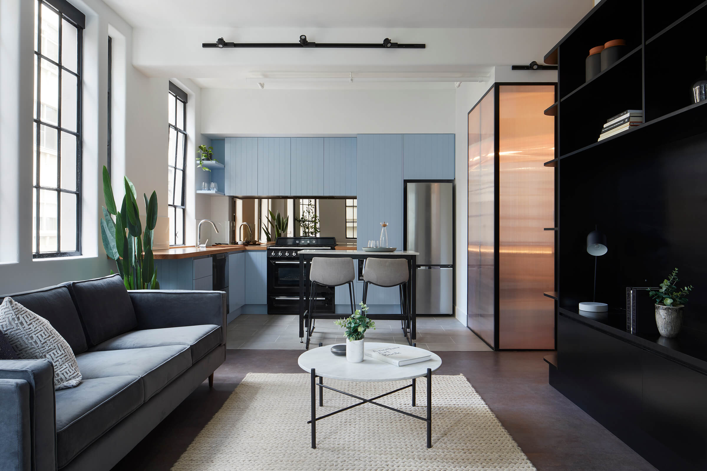 Lt. Collins Apartment by de.arch